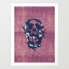 Death in Parts Art Print