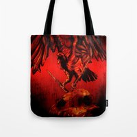 SWITCHBLADE VULTURE Tote Bag
