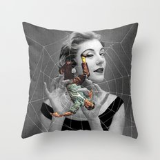 They Eat Their Mates Aft… Throw Pillow