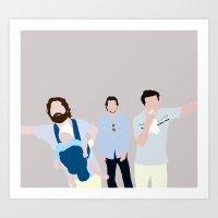 The Hangover Digital Pri… Art Print