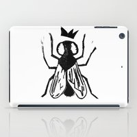 Fly Linocut iPad Case