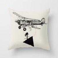The Catcher Throw Pillow