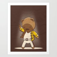 Teddy Mercury Art Print