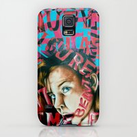 Galaxy S5 Cases featuring Manipulative Beauty by Grace Simmons