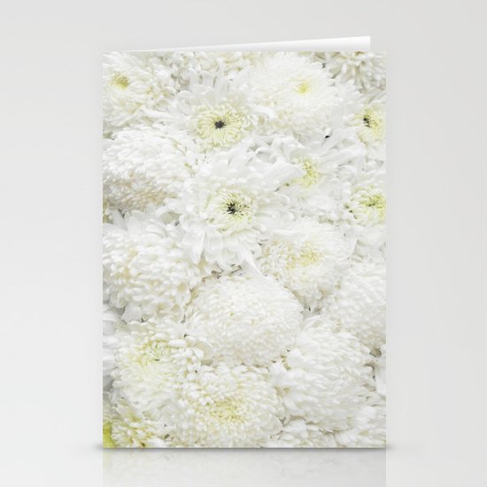 White  Stationery Card