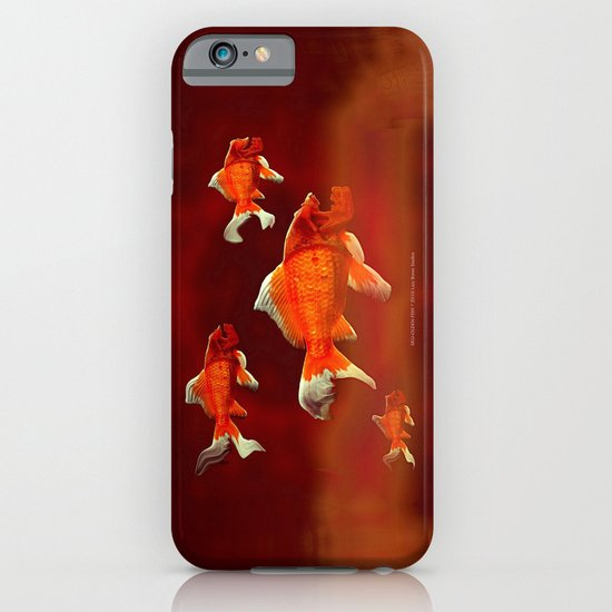 SKU-OLDEN FISH 037 iPhone & iPod Case