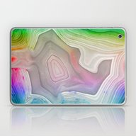 MINERAL RAINBOW Laptop & iPad Skin