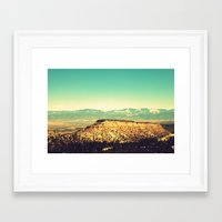 Main Hill, Los Alamos NM Framed Art Print