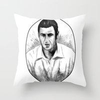 DARK COMEDIANS: Adam San… Throw Pillow