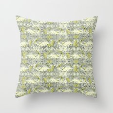 dotted fish Throw Pillow