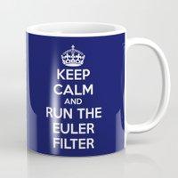Keep Calm and Run the Euler Filter Mug