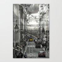 Lisbon Central  Canvas Print