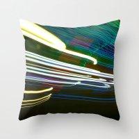 Night Light 97 Throw Pillow