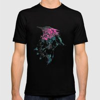 Hummingbird Mens Fitted Tee Black SMALL