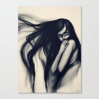 Oblivious Canvas Print