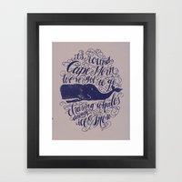 Cape Horn Framed Art Print