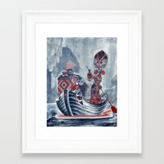 The River Styx Framed Art Print
