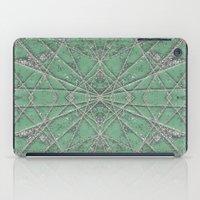 Snowflake Mint iPad Case