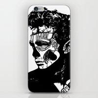 James Dean. Rebel: Zombi… iPhone & iPod Skin