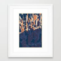 INDEPENDANCE DAY Framed Art Print