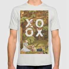 Oh, Xoxo... Mens Fitted Tee Silver SMALL