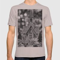 Winter Wonderland Mens Fitted Tee Cinder SMALL