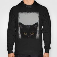 Black Kitten Hoody