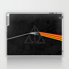 the darkside of the deathly hallows Laptop & iPad Skin
