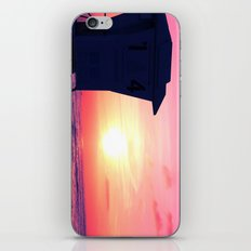 Mission Beach Sunset iPhone & iPod Skin