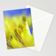 Yellow flowers 277 Stationery Cards