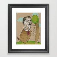 Mr Beever Framed Art Print