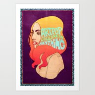 Art Print featuring My ARTPOP Could Mean Any… by Helen Green