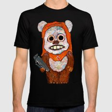Eccentric Ewok Mens Fitted Tee Black SMALL