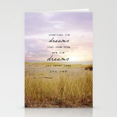 sometimes the dreams Stationery Cards