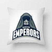 DarkSide Emperors Throw Pillow