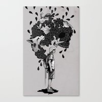 Baggage Canvas Print