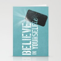 BELIEVE IN YOURSELFie Stationery Cards