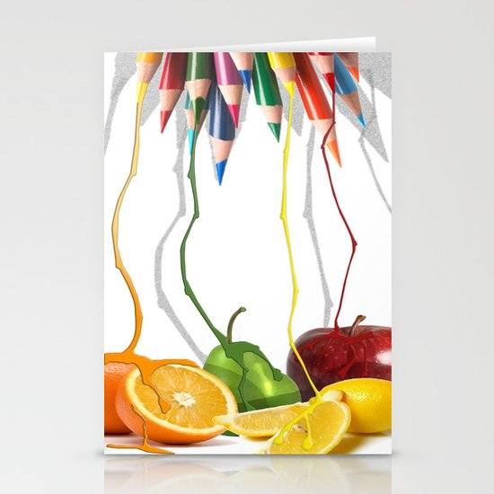 Painting Nature Stationery Card