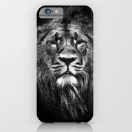 iPhone & iPod Case featuring Male Asiatic Lion by Meirion Matthias