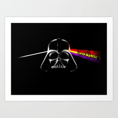 Dark Side of the Force Art Print