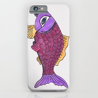 iPhone & iPod Case featuring I've Got My Eye On You by AKABETSY
