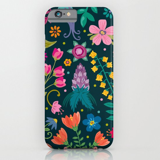 Floral Heart iPhone & iPod Case