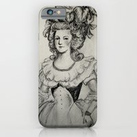 iPhone & iPod Case featuring French Sketch II by alison dillon art