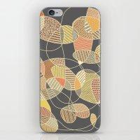 Tangled (grey version) iPhone & iPod Skin
