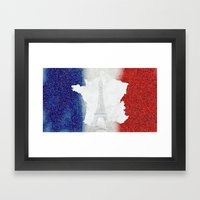 Viva La France!!! Framed Art Print
