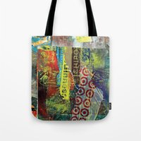 Layered 1 Tote Bag