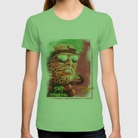 Sexmetal Womens Fitted Tee Grass SMALL