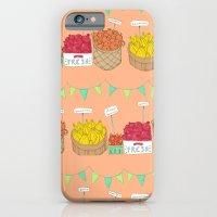 iPhone & iPod Case featuring Farmer's Market Pattern by Julia Emiliani