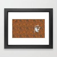 Monkey Town ! Framed Art Print