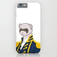 Captain Ferret iPhone 6 Slim Case